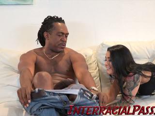 interracial, creampie, hd pornô