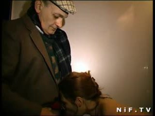 check french movie, redheads, real old+young vid