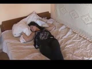 Bäst av sova flickor