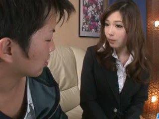 못된 사무실 입 로 섹시한 aiko hirose: 무료 포르노를 22