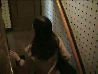 japansk, voyeur, avsugning