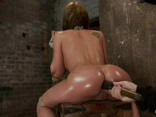 Amy brooke hog fastened s a velika dildo pushed v ji wazoo