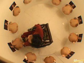 Japoniškas av modelis gets fingered