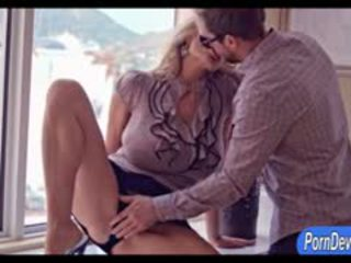 Enorme sandías wifey kelly madison pounded real duro