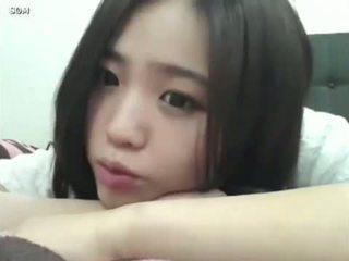 carino, ragazza, coreano