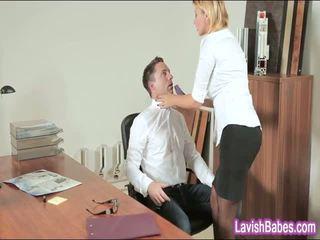 Oficina nena anna polina banged real bueno