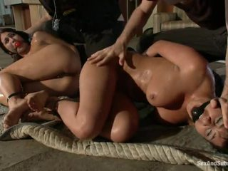 sexy yo yo cop girl, scared for a big cock, shows their shaved