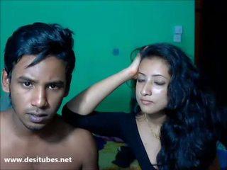 Deshi honeymoon cặp vợ chồng cứng giới tính 1