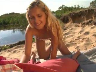 innocent amatieru tīņi, blowjobs, pludmale