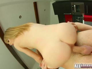 All Internal Shy newcomer gets pussy injected