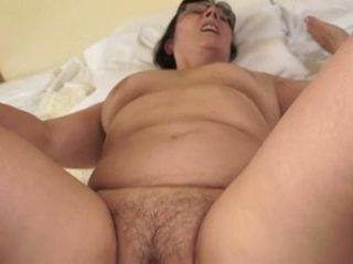 Hot grandma loves young cocks