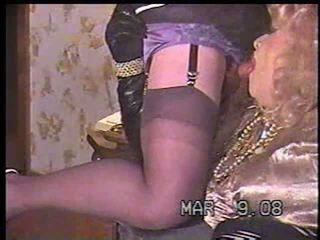 rimming, crossdresser, blowjob