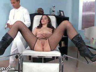 Nobody knew perché amirah adara likes a andare a ginecologo.