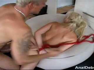 Danish girl gets anal lesson