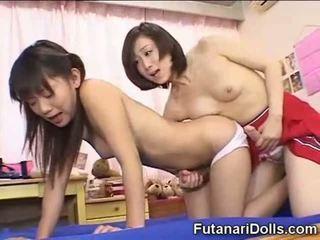 Futanari remaja hubungan intim dan jizzing!