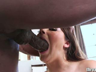 黑妞, 口交, 深喉