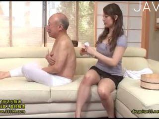 जापानी, blowjob, cumshot