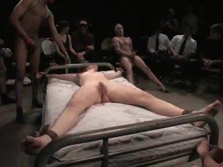 Bondaged skaistule gets apvainotas