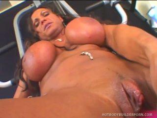 Rhonda lee works rod fontana s kjærlighet muscle
