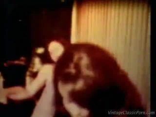 fundul mare curvă dracu ', porno retro, vintage sex