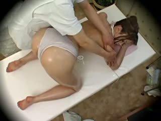 Spycam thời trang mô hình seduced qua masseur 1