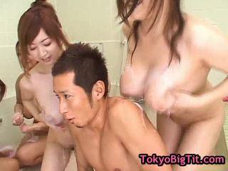 fucking, groupsex, japanese