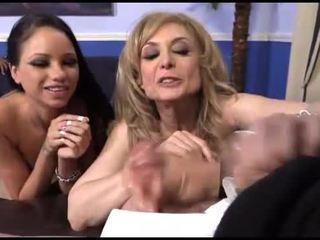 Raven bay และ nina hartley เซ็กส์ระหว่างคนต่างสีผิว ผัวมีเมียน้อย สนุก