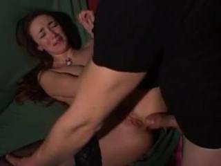 Itali seksi seksi milf anal bokong gape