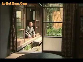 japonski, oče, hči