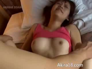 Asian and her beautiful pussy