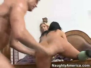 Sexy Ashli Orion And Brooke Biggs Having A Nasty Groupsex And Gets Huge Cumshawt