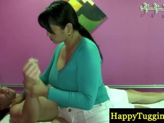 असली थाई masseuse playthings बंद को zonker