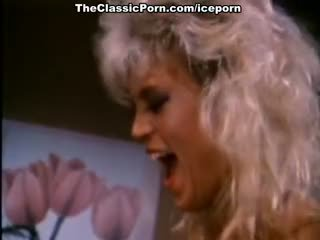 Amber lynn, nina hartley, buck adams में विंटेज बकवास चलचित्र