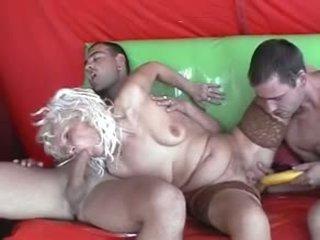 double penetration, grannies, matures
