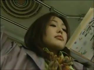 Japońskie lesbijskie autobus seks (censor.