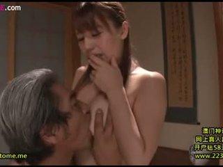 bruneta, orálny sex, japonec
