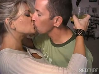 Beautiful MILF Vicky Vette riding dick