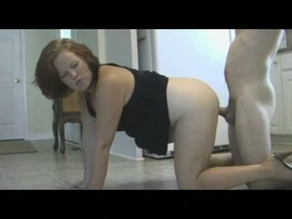 Mama punishes fiu cu piss & creampie