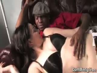 brunette, group sex