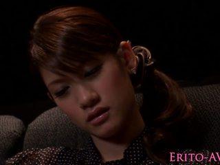 Japanska modell gf blowing kuk i biograf, porr f2