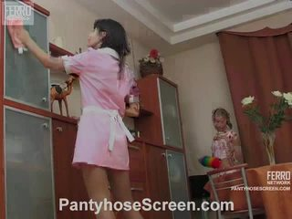 Alina এবং catherine ন্যাষ্টি hose actionion