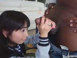 Aziatike vogëlushe marica hase qirje ajo i vështirë