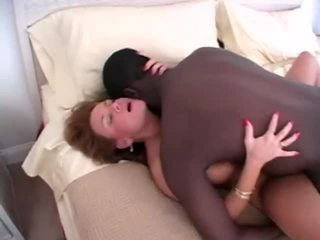 Lovely mature amateur wife and her lover cuckold