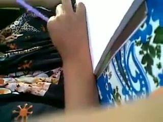 আমার বন্ধু muslim বালিকা চোট চুলের মেয়ে প্রেস & lipock