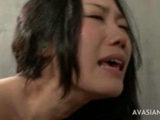 Ekstremalus šikna į burna azijietiškas seksas tryse