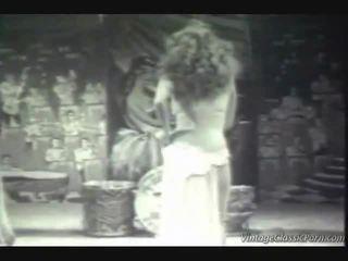 Vintage exótica dancer