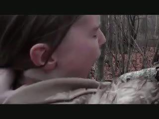 Kívánós outdoors - assfuck -val fiatal lány, porn 71