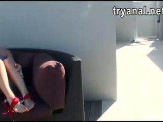 חם חתיכה evelyn lacie תחת מזוין תוך being filmed ב בית