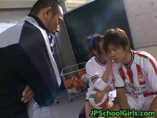 Bela nu asiáticos schoolgirls