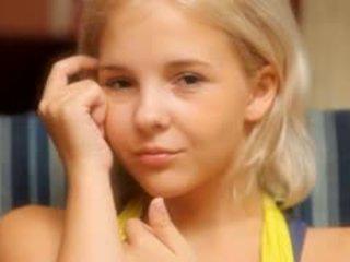 Petite 19yo Blondie Teasing Herself